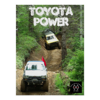 DBD Toyota Power Poster