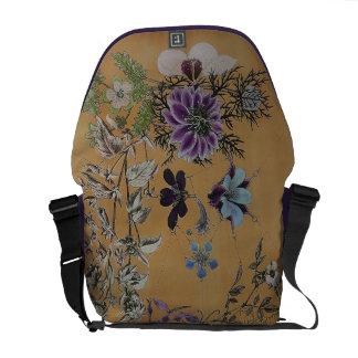 Dbl Vixen Purple Rickshaw Messenger Bag