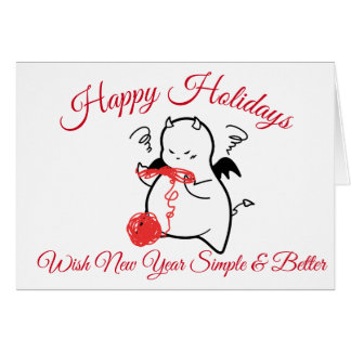DBY Holidays Greetings for simple & better Card