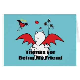 DBY Thanks For Being My Friend Card