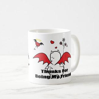 DBY with friends Hearties Coffee Mug
