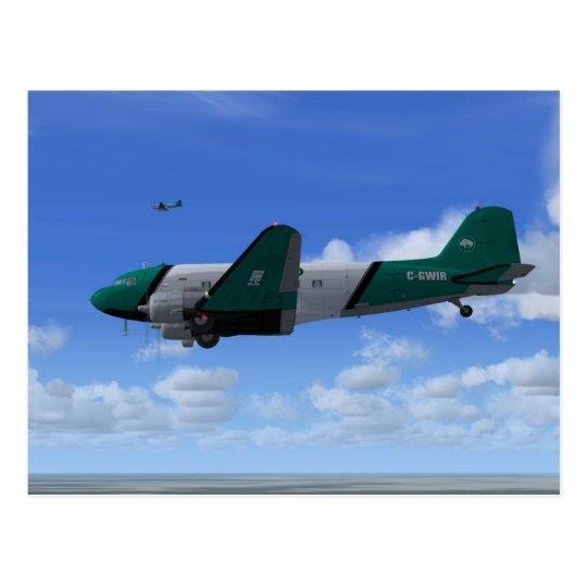 DC-3 Formation Postcard [BAV]