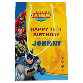 DC Comics   Justice League - Birthday Medium Gift Bag