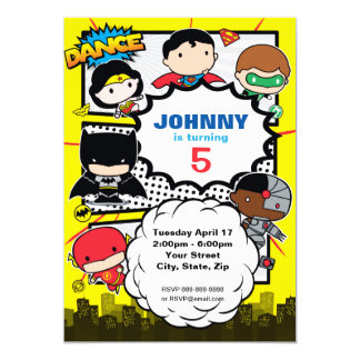 DC Comics | Justice League - Chibi Birthday Card