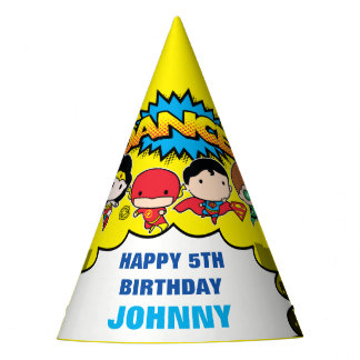 DC Comics | Justice League - Chibi Birthday Party Hat
