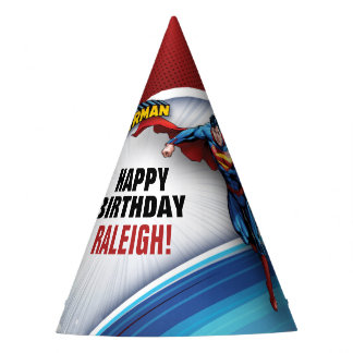 DC Comics   Superman - Birthday Party Hat