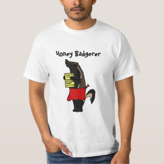 DC- Funny Honey Badgerer T-shirt