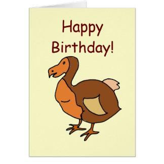 DC- Happy Birthday! Dodo Card