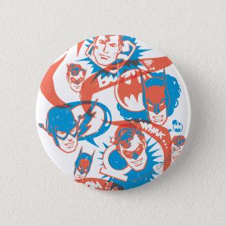 DC Originals - Logo Burst 2 Inch Round Button