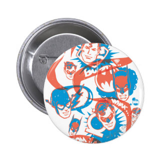 DC Originals - Logo Burst 2 Inch Round Button