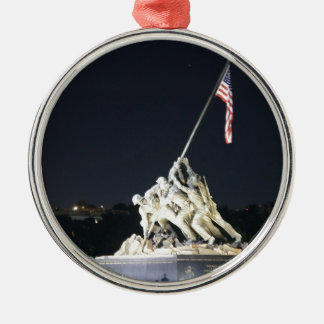 DC Remembers Silver-Colored Round Ornament