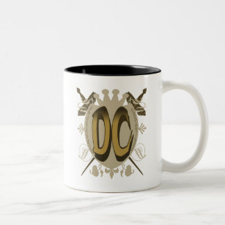 DC SHIELD LOGO Two-Tone COFFEE MUG