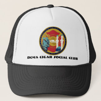 DCMA CIGAR SOCIAL CLUB TRUCKER HAT