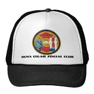 DCMA CIGAR SOCIAL CLUB TRUCKER HAT