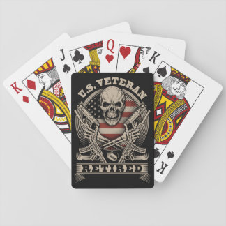 dd-214 Playing Cards Retired Veteran Version