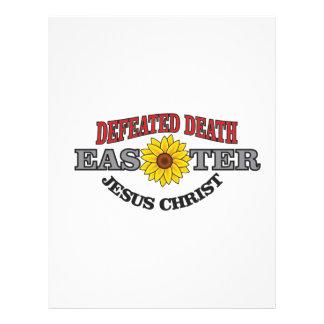 dd jc Easter Letterhead Design