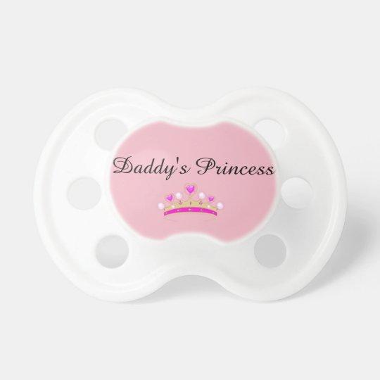 "DD/lg ""Daddy's Princess"" Paci Pacifier"