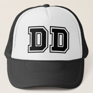 'DD' Monogram Trucker Hat