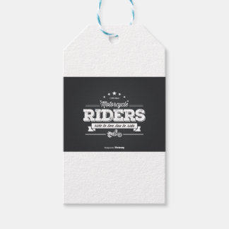 DD Motorcycle Riders T Shirt Design 76009.ai Pack Of Gift Tags