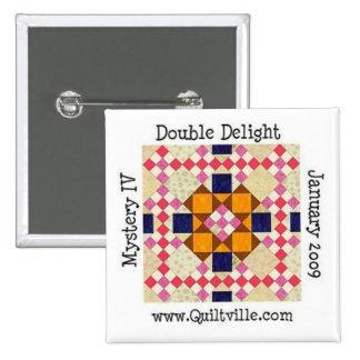 DDbutton 2 Inch Square Button