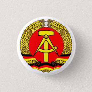 DDR East Germany 1 Inch Round Button