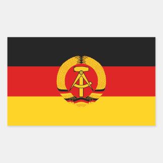 DDR Flag Sticker