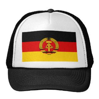 DDR German Democratic Republic Flag Trucker Hats