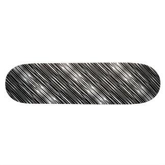 ~ de BOIS D'ÉBÈNE et d'IVOIRE (rayures de zèbre) Plateaux De Skate