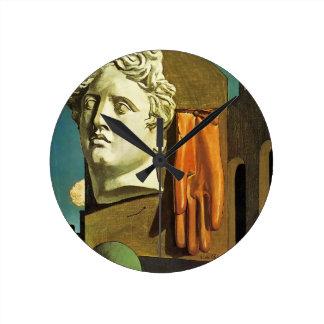 De Chirico Love Song Clock