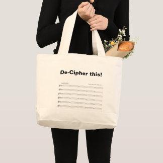 De-cipher this joke bag for organists