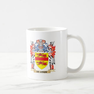 De-Cock Coat of Arms - Family Crest Coffee Mug