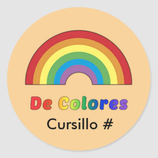 De Colores Rainbow Sticker