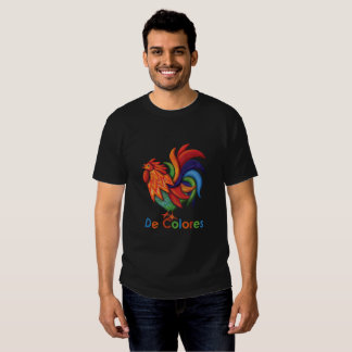 De Colores Rooster Gallo Men's T-Shirt