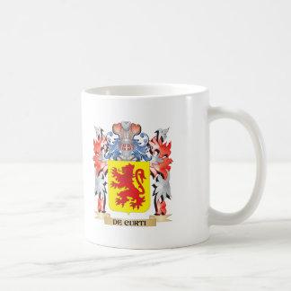 De-Curti Coat of Arms - Family Crest Coffee Mug