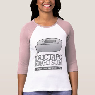 De Ductapo somme donc.  I ruban adhésif, donc moi  T-shirt