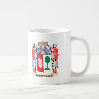De-Francesco Coat of Arms - Family Crest Coffee Mug