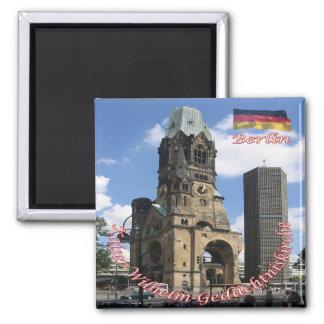 DE - Germany Berlin Kaiser Wilhelm Memorial Church Magnet