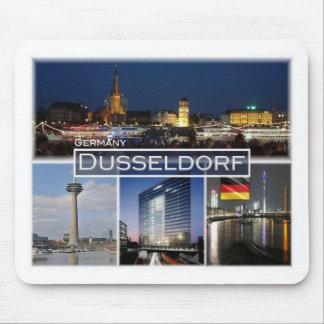 DE Germany  - Dusseldorf - Rathaus - Mouse Pad