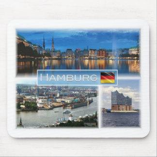 DE Germany - Hamburg - Binnenalster - Port Mouse Pad