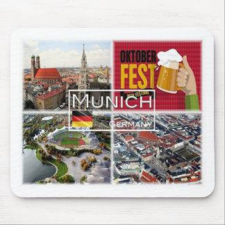 DE Germany - Munich München - Mouse Pad