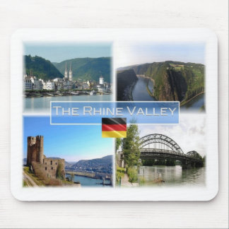 DE Germany - The Rhine Valley - Mouse Pad