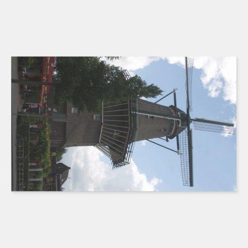 De Gooyer Windmill Amsterdam Stickers