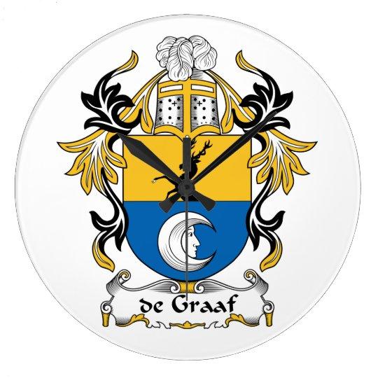 de Graaf Family Crest Clock