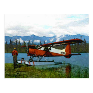 De Havilland Beaver Floatplane Postcard