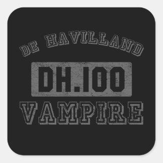 de Havilland DH.100 Vampire Square Stickers