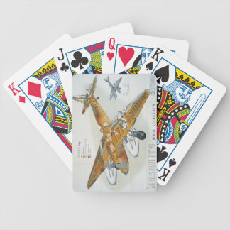 de Havilland Mosquito Cutaway Bicycle Playing Cards