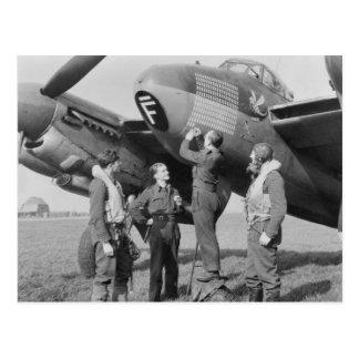 de Havilland Mosquito Postcard