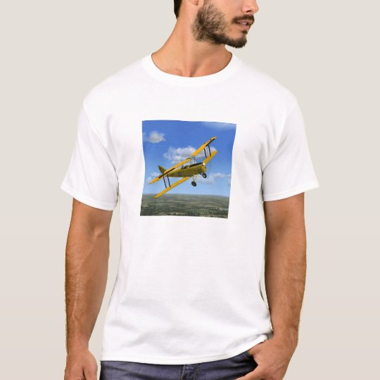 De Havilland Tiger Moth Plane T-Shirt