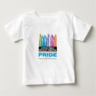 De justice égalité aujourd'hui pour toujours t-shirt pour bébé