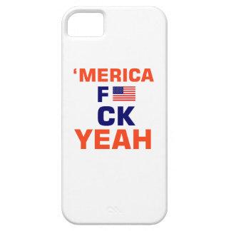 De Merica T-shirts ouais Coque Barely There iPhone 5